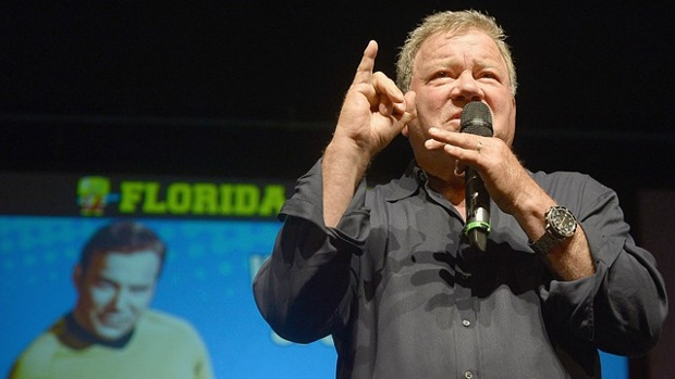 William Shatner now and then