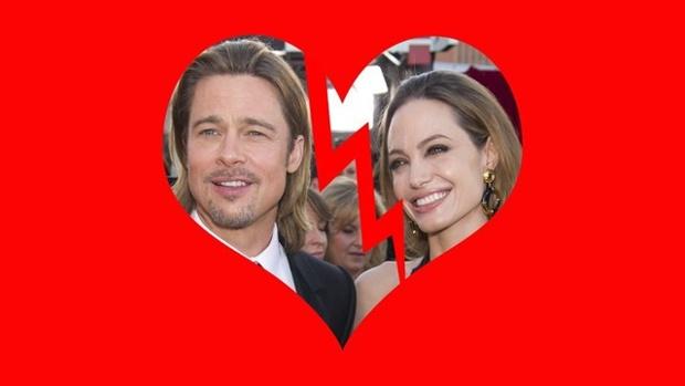 Brad and Angelina break up
